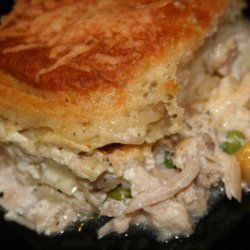 Creamy Chicken and Biscuit Bake recipe
