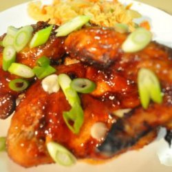 Wok Tossed Honey Soy and Chili Chicken Wings recipe
