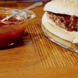 North Carolina Barbecue Sandwich Sauce recipe