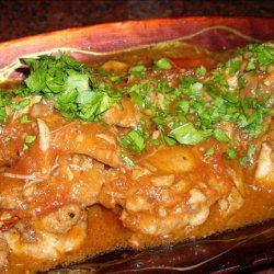 Chicken in Red Wine Vinegar recipe