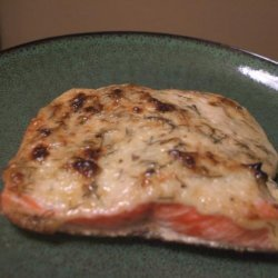Baked Salmon With Herbed Mayonnaise recipe