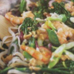 Shrimp and Vegetable Stir Fry recipe