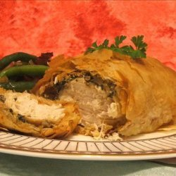 Greek Style Chicken Wrapped in Phyllo recipe