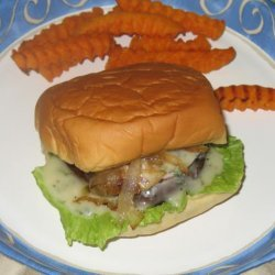 Grilled Portabella Burger With Basil Mayonnaise recipe