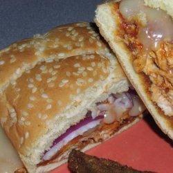 Honey Chipotle Barbecue Chicken Sandwiches recipe