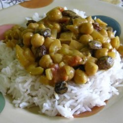 Creamy Chickpea Curry recipe
