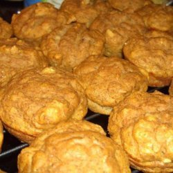 Protein Pumpkin Flax Mini Loaves or Muffins recipe