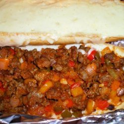Italian Sausage With Peppers, Onions and Beer recipe