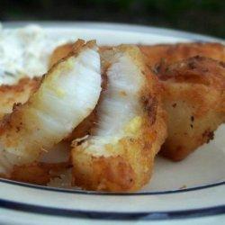 Secret Fried Halibut recipe