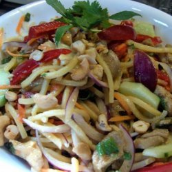 Chicken and Noodle Stir Fry recipe