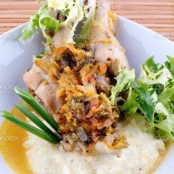 Chicken and Potato Saute recipe