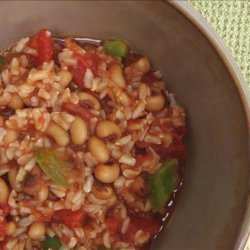 Spicy Black-Eyed Peas and Rice recipe