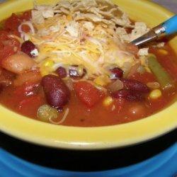 Vegetarian Taco Soup recipe