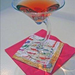 Pink Flirtini recipe