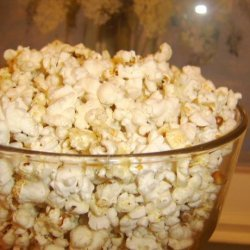 Black Pepper and Parm Cheesy Popcorn recipe
