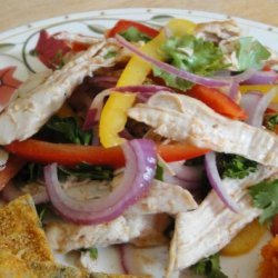 Moroccan Chicken Salad for a Starry Night recipe