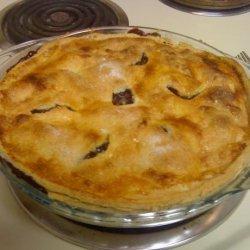 Blue Ribbon Wild Blueberry Pie recipe