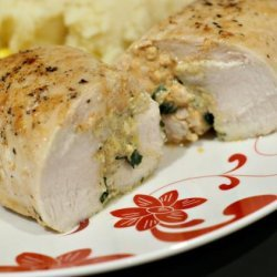 Basil & Feta Stuffed Chicken Breast recipe