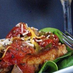 Green Chile Pork Chops recipe