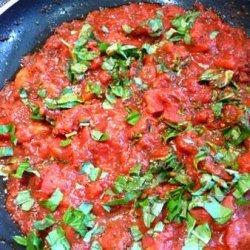 Tomato and Basil Pasta Sauce recipe