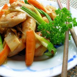 Chicken and Sprouts Stir Fry recipe