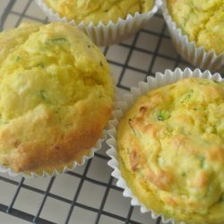 Zucchini and Corn Muffins recipe