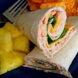 Turkey Wrap With a Kick recipe