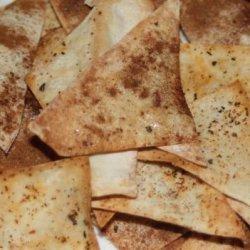 Italian Pasta Chips - Baked Not Fried recipe