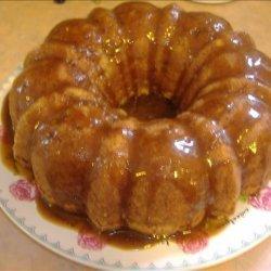Diane's Fresh Apple Cake With Caramel Glaze recipe