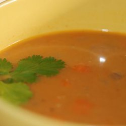 Red Lentil Soup With Lemon recipe