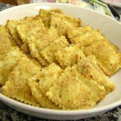 Oven Fried Ravioli recipe