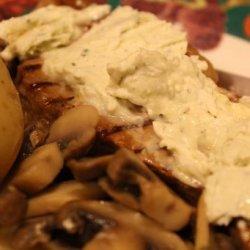 Beef Tenderloin With Blue Cheese recipe