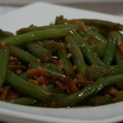 Green Beans With Garlic Butter and Almonds recipe