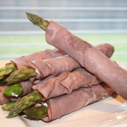 Asparagus Beef Roll Ups recipe