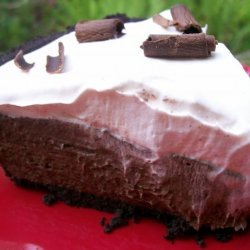 Chocolate Silk Pie With Marshmallow Meringue recipe