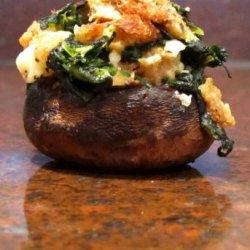 Spinach Stuffed Mushrooms recipe