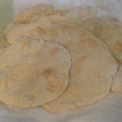 Pita  Bread -- Using the Master Recipe #309834 recipe