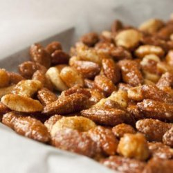 Feej's Sweet  & Spicy Chipotle Nuts recipe