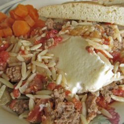 Greek Lamb Casserole recipe
