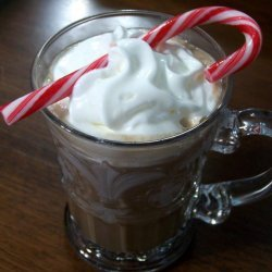 Hot Chocolate With Peppermint Schnapps recipe