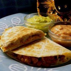 Crockpot Chicken Quesadillas recipe