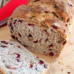 Cranberry Oat Bread recipe