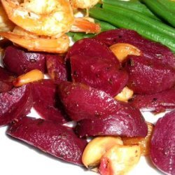 Roasted Beets and Garlic recipe