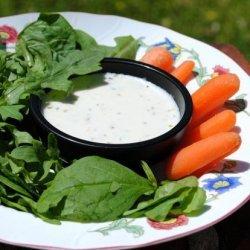 Buttermilk Balsamic Salad Dressing recipe