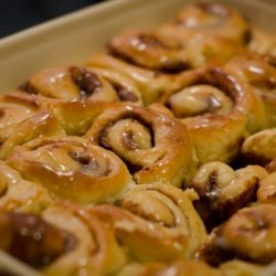 Mini Maple Cinnamon Rolls recipe