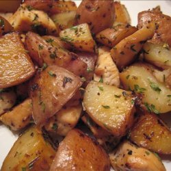 Garlic and Sage Chicken and Potato Saute recipe