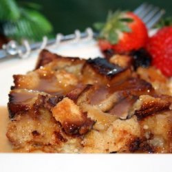 Bread Pudding with Jack Daniels Sauce recipe