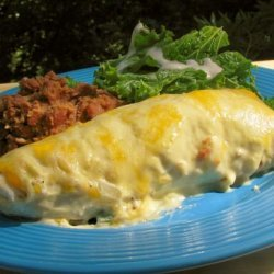 20 Min. Sour Cream Chicken Enchiladas recipe