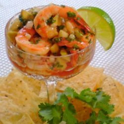 Shrimp Ceviche  cocktail  recipe