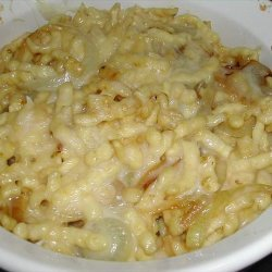 Spaetzle Noodle and Cheese Bake recipe